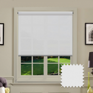 White Roller Blind - Astral Paper White